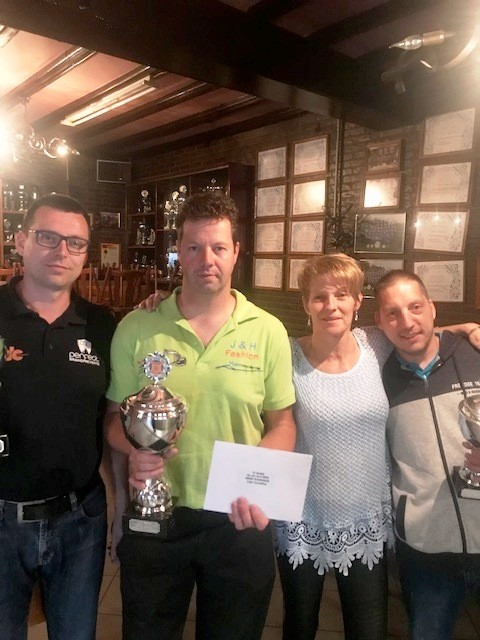Darinka Schillings & Patrick Wroniewicz winnen 4e NBBR RANKING